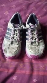 Woman's Adidas running trainers size 6