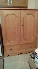 Traditional style pine cupboard, very spacious