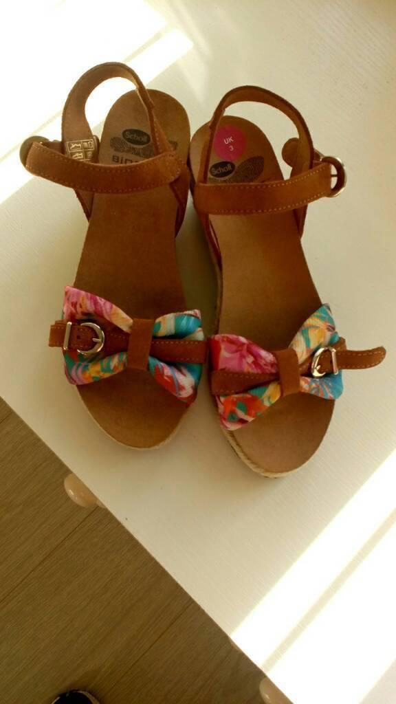 Brand new ladies Scholl Sandals UK size 3