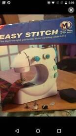 new JML portable easy stitch sewing machine