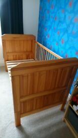 Toddler / cot bed. From a clean, smoke free home. Quick sale wanted.