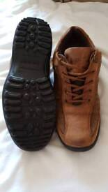 Brown Hotter Goretex lace up shoes