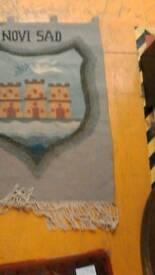 Novi Sad Hand made wall hanging rug