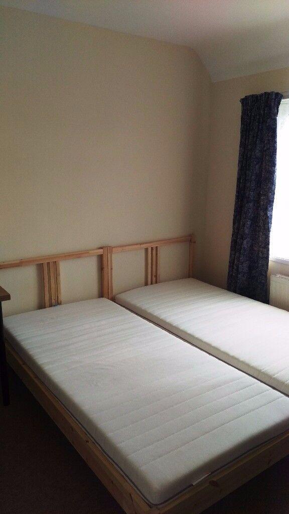 Double room for single person.Hdgware-Harcourt Av.Free PARKING!