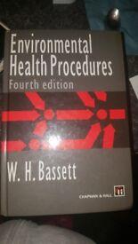 W.H.Bassett Environmental Health Procedures 4th edition