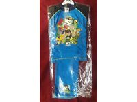 BEN TEN CHILDREN PYJAMA AGE 7-8 %100 COTTON FOR £4 TWO FOR £7. NEW WITH TAG.