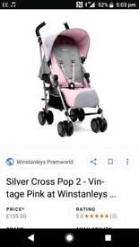 Silver cross pram