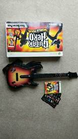 Guitar hero: world tour for xbox 360. Good condition
