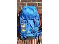 Vango Contour Rucksack Contour 50+10 litre size. Brand new with features tags. In coastal blue.