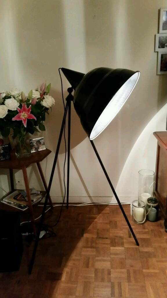 Habitat photographic giant floor lamp | in Kensington, London | Gumtree
