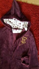 Ladies size 14-16 burgandy harry potter dressing gown