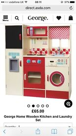 Toy kitchen brand new and boxed
