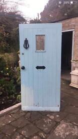 Blue door for sale