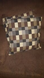 Four matching Ikea couch cushions/pillows