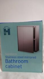 Bathroom Cabinet - Stainless Steel - Brand New