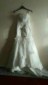 Sparkly weeding dress