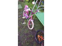 2 Bikes childrens 1 Boys & 1 Girls