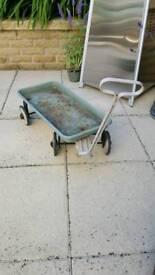 Old metal cart
