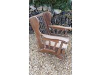 Wooden Rocking Chair/Nursing Chair/ Garden Recliner