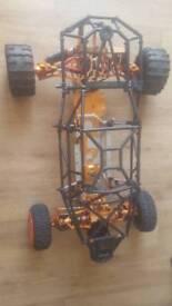 Baja alloy roller