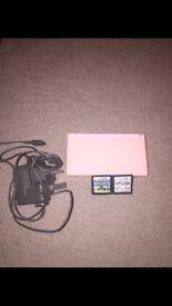 Pink Nintendo Ds + 10 games