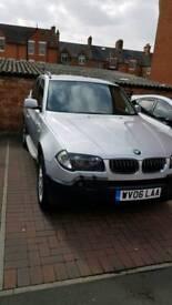 BMW X3 3.0 SE-2006 New MOT (Av. April 2019)