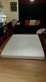 King size all foam mattress