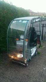Quingo mobility scooter.