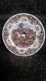 Herrings hunt plate Breaking Cover By Churchill Collectable