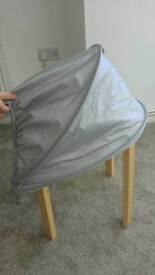 M&P Universal Adjustable Baby Stroller Sun Shade Canopy with Mosquito Net