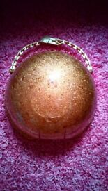Lol doll surprise large empty gold glitter storage case