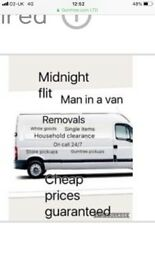 Man in a van / removals /house clearance / van hire