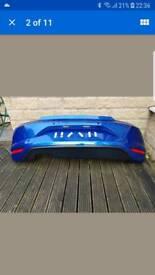 VW Scirocco rear bumper