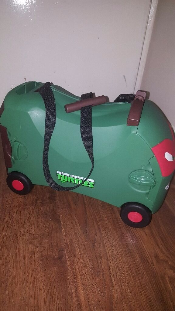 Turtles Raphael Ride on Suitcase