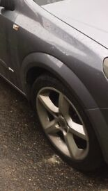 Astra alloys 18inch all good tyres