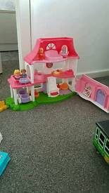 Little people dolls house