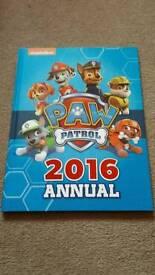 Paw Patrol 2016 Annual