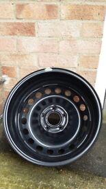 New Renault Megane steel wheel