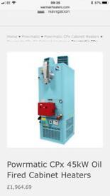 Powrmatic Industrial blow heater