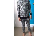 Designer brand Rascal camo joggers and hoodie. By the famous F2 Freestylers.
