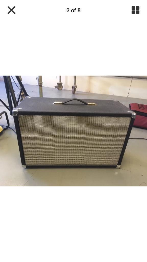 Fender style 2x10 speaker cabinet Jensen speakers | in Burnley, Lancashire  | Gumtree