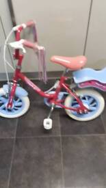 Girls 12inch fairycake bike