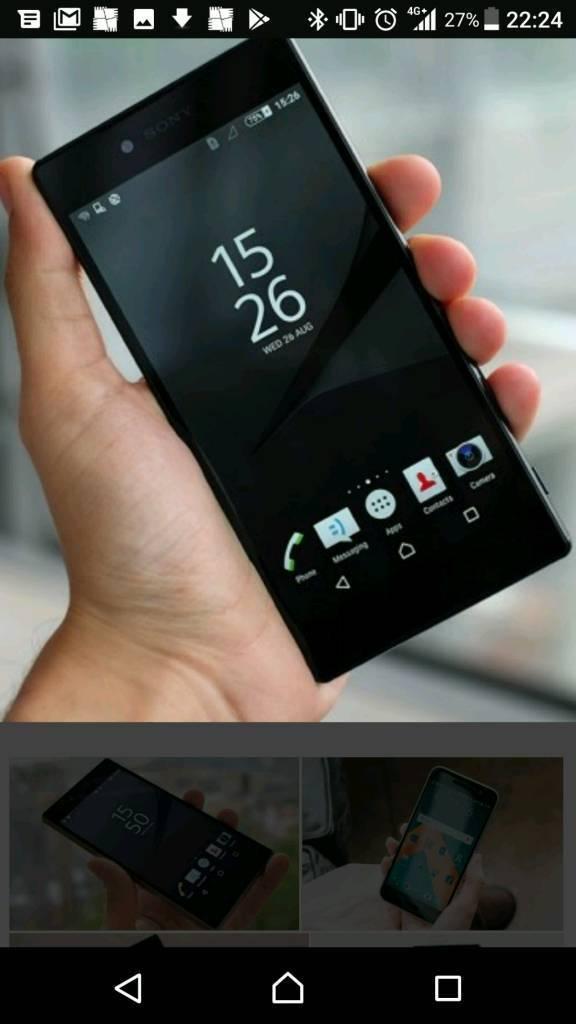 Sony xz premium in black