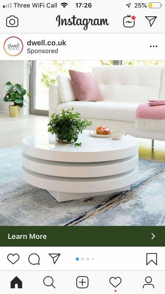 Coffee Table Sold In Glasgow Gumtree