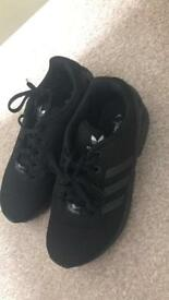 Zx flux adidas size 4 trainers