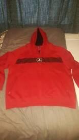 Men's Jordan Red Hoody XXL