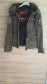 Womens superdry jacket size xs