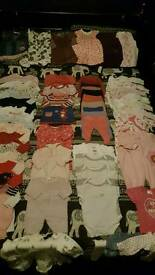 0-3 months girls bundle. Over 60 items