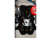 wulfsport kids armour protection motocross quad