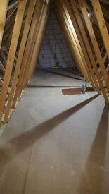 Loft Flooring / Insulation + Garden Landscaping (Decking & Fencing)